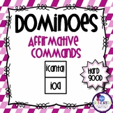 Spanish Dominoes - Affirmative Commands {HARD GOOD}