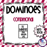 Spanish Dominoes - Conditional Tense {HARD GOOD}
