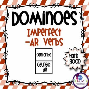 Spanish Dominoes - Imperfect -AR {HARD GOOD}
