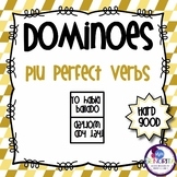 Spanish Dominoes - PluPerfect Tense {HARD GOOD}