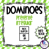 Spanish Dominoes - Preterite Irregular {HARD GOOD}