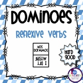 Spanish Dominoes - Reflexive Verbs {HARD GOOD}