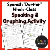 "Spanish ""Dormir"" Whole-Class Graphing Activity"