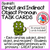 Spanish - Double Object Pronoun TASK CARDS