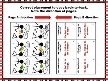 Spanish Double Object Pronoun Pair Practice Questions