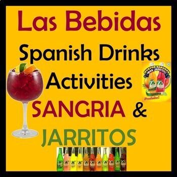 Spanish Drinks Video Activities & Unit - Bebidas - Sangria - Jarritos