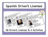 Spanish Driver's License Activities