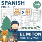 "Spanish Dual Language Kindergarten ""El mitón"" (The Mitten) Book Companion"