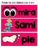 Spanish Dual Language - Silabas