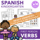 Spanish Dual Language Verbs - Common Verbs in First Person