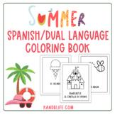 Spanish Dual Language Summer Coloring Book!