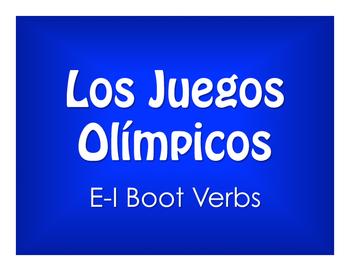 Spanish E-I Boot Verb Olympics