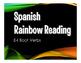 Spanish E-I Boot Verb Stations