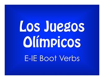 Spanish E-IE Boot Verb Olympics