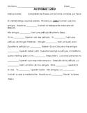 Spanish -ER Conjugation Practice #1 (with stem-change)