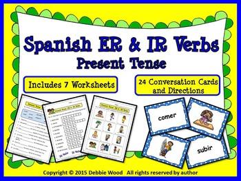 Spanish Present Tense (ER & IR Verbs)