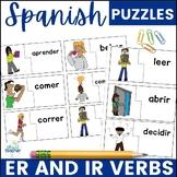 Spanish ER IR Verbs Puzzles