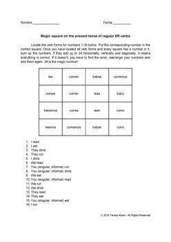 Spanish ER/IR-verb conjugation bundle 5 fun no prep worksheets