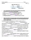 Spanish ER Verb Practice (Comer, Beber)