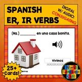 ER, IR Verbs Spanish Boom Cards, Spanish Digital Flashcard