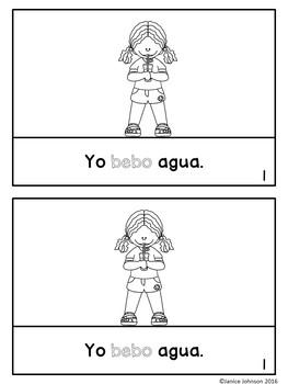 Spanish ER Verbs Reader & Build-A-Book ~ Mi amigo corre ~ Los verbos en ER