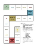 Spanish -ER and -IR Verb Conjugation Board Game (Present Tense)
