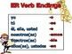 Spanish ER and IR Verb Conjugations Notes and Practice Pow