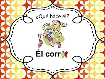 Spanish -ER verbs Powerpoint - singular only