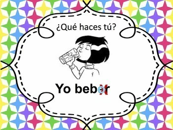Spanish -ER verbs Powerpoint - all forms