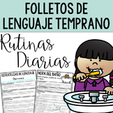 Spanish Early Intervention Language Handouts for Daily Rou