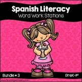 Spanish: Early Literacy Word Work Bundle #3