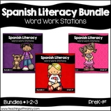 Spanish: Early Literacy Word Work Bundle 1, 2 and 3