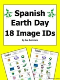 Spanish Earth Day 18 Vocabulary Image IDs - Día de la Tierra