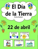 Spanish Earth Day PowerPoint and Vocabulary Reference - 29 Slides