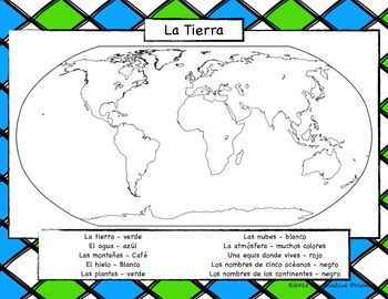 Spanish Earth Day Printable
