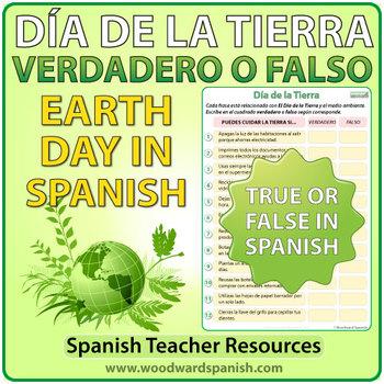 Spanish Earth Day - Verdadero o Falso