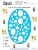 Spanish Easter Bundle - 4 Worksheets, Listening, Poetry, V