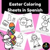 Spanish Easter Coloring Sheets (Pascua hojas de colorear)