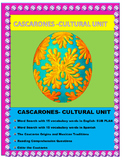 Cultural Unit- Los Cascarones -Reading Comprehension inEnglish- Spanish SUB plan