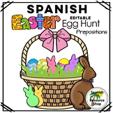 Spanish Easter Egg Hunt with Prepositions