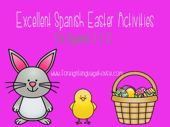 Excellent Easter Games & Activities For Spanish I and II