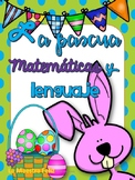 Spanish: April Literacy and Math Centers/ Centros  Matemát