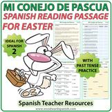 Spanish Easter Reading - Mi Conejo de Pascua