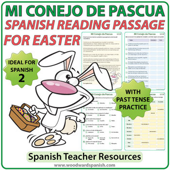 Spanish Easter Reading - Mi Conejo de Pascua