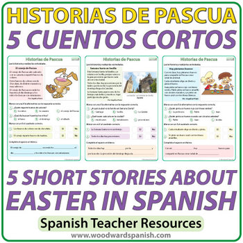 Spanish Easter Short Stories - Cuentos Cortos de Pascua