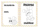 Spanish Easter coloring cards 3