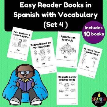 Spanish Easy Reader books (Libros infantiles para lectura facil o practica)