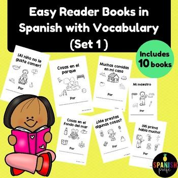 Spanish Easy Reader books (Libros infantiles para lectura guiada o practica)
