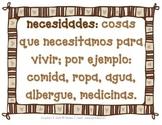 Spanish: Economics Vocabulary Cards -Vocabulario Académico