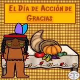 Spanish: El Día de Acción de Gracias BINGO